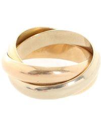 Cartier Trinity Ring klassisch aus Gelbgold - Mettallic