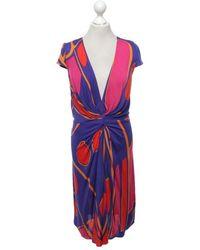 Issa Kleid aus Viskose - Mehrfarbig