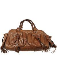 Givenchy Tasche mit Tassel - Braun