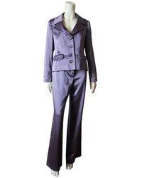 Laure'l Anzug aus Baumwolle - Blau