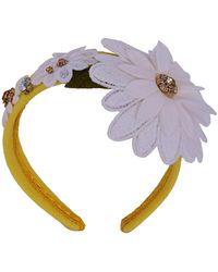 Dolce & Gabbana Haarschmuck - Gelb