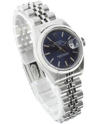 Rolex Armbanduhr - Blau