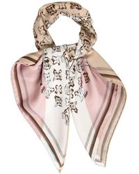 Louis Vuitton Schal/Tuch aus Seide - Pink