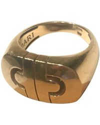 BVLGARI Ring aus Gelbgold - Mettallic