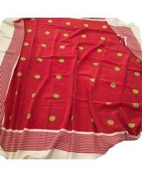 Chanel Schal/Tuch aus Seide - Rot