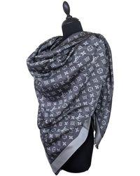 Louis Vuitton Schal/Tuch aus Wildleder - Mehrfarbig