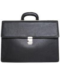 Montblanc Handtasche aus Leder - Schwarz