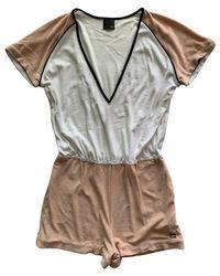 Fendi Jumpsuit aus Baumwolle - Mehrfarbig