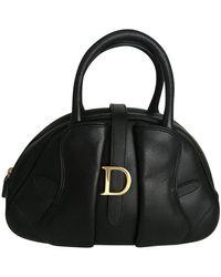 Dior Saddle Bowling Bag - Schwarz