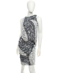 Peter Pilotto - Kleid mit Muster - Lyst