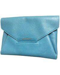 "Givenchy ""Antigona Envelope Clutch"" - Blau"