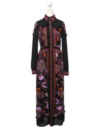 Anna Sui Kleid aus Viskose - Rot