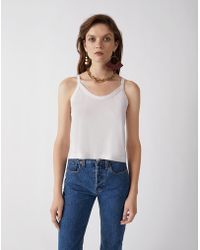RE/DONE - Originals Jersey Tank Top - Lyst