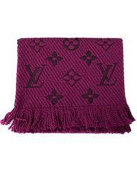 Louis Vuitton - Scarf/muffler - Lyst