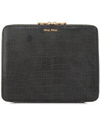 Miu Miu Pre-owned Ipad Holder - Gray
