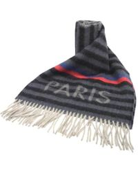 Louis Vuitton - Scarf Stripe Wool Angola - Lyst