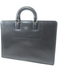 Lanvin - Leather Business Bags Briefcase - Lyst