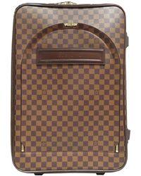 Louis Vuitton | Pegase 55 Rolling Luggage Suitcase N23294 Damier Canvas Damier | Lyst