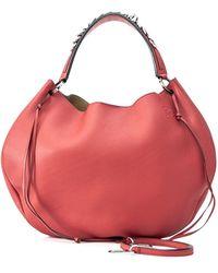 Loewe Pre-owned Fortune Hobo Bag - Red