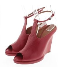 Givenchy - Sandal Red 36 - Lyst