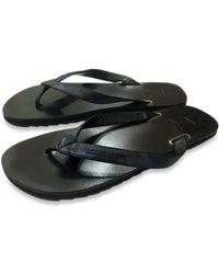 Louis Vuitton - Men's Beach Sandals Flip-flops Black And Blue Size8 - Lyst