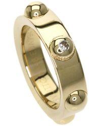Louis Vuitton   18k Yellow Gold Ring Petitebag Crew 1pdiamond   Lyst