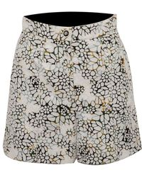 Chanel Pre-owned Floral Shorts - Multicolor