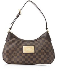 Louis Vuitton Pre-owned Damier Thames Pm - Brown