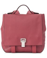 Proenza Schouler Pre-owned Ps Courier S Backpack - Red