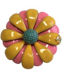 Lyst - Chanel Broche Fleur Collection  paris Cuba    in Orange 12451fd5f58