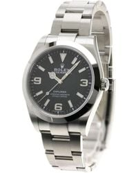 Rolex - Explorer Watches 214270 Stainless Steel Mens - Lyst