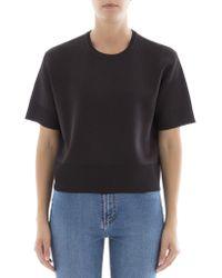 Bottega Veneta | Black Wool Sweatshirt | Lyst