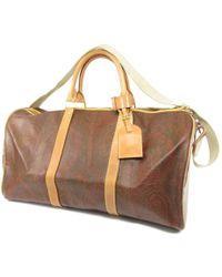 Etro | Pvc Boston Bag Paisley 2 Way | Lyst