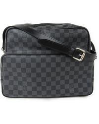 Louis Vuitton | Damier Graphite Ieoh Messenger Shoulder Crossbody Bag N45252 | Lyst
