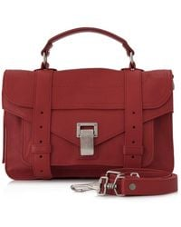 Proenza Schouler - Pre-owned Ps1 Tiny Leather Satchel - Lyst