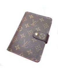 Louis Vuitton - Monogram Canvas Bifold Wallet With Coin Pocket M61207 Portopapier And Zip - Lyst