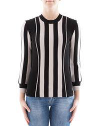 Bottega Veneta | Black Viscose Sweatshirt | Lyst