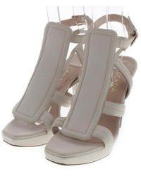 ESCADA - Sandal White 39 - Lyst