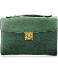 Versace Handbag Sunburst Used T3463 - Green