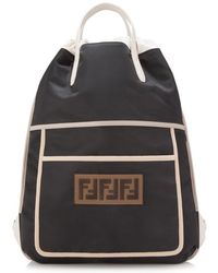 Fendi - Slim Backpack - Lyst