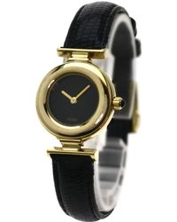 Fendi - 320l Watches Gp/leather Women - Lyst