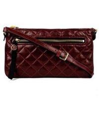 Moncler - Francine Crossbody Bag Burgundy - Lyst