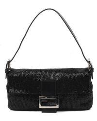 Fendi - Baguette Embroided Bag - Lyst