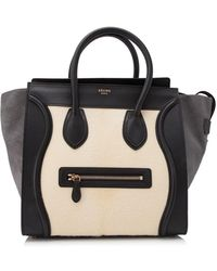 Céline | Pre-owned Céline Mini Luggage | Lyst