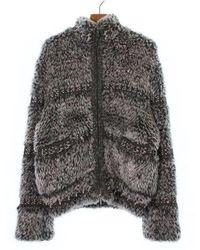Chanel - Blouson Grey 36 - Lyst