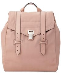 Proenza Schouler Pre-owned Ps1 Backpack - Natural