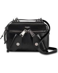 9dd6be88d1e7 Lyst - Givenchy Black Leather Biker Tote in Black