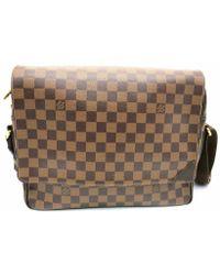 d7e4783d4ecb Louis Vuitton - Lv Shelton Mm Shoulder Bag N41149 Damier Brown 0409 - Lyst