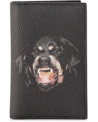 Givenchy Pre-owned Rottweiler Card Holder - Black