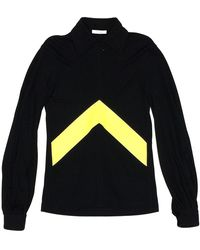 Céline Half Zip Collar Sweatshirt Black